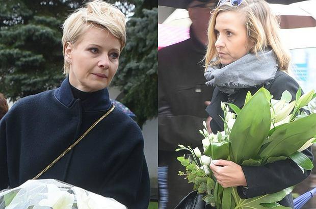 Zdjęcie numer 0 w galerii - Pogrzeb Witolda Pyrkosza. Aktora pożegnała rodzina i bliscy. Była także ekipa