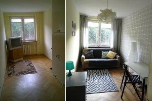 Metamorfoza mieszkania w Sopocie za 3500 zł