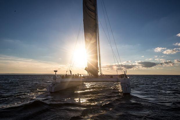 Na pokładzie najszybszego jachtu żaglowego w Polsce, czyli Ekipa EkstRemalna i katamaran Kapitana Paszke