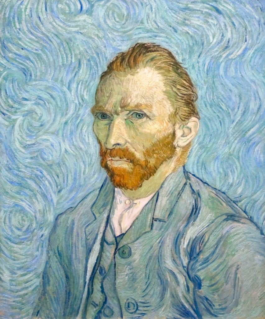 Vincent van Gogh. Autoportret, 1889 / Wikimedia commons