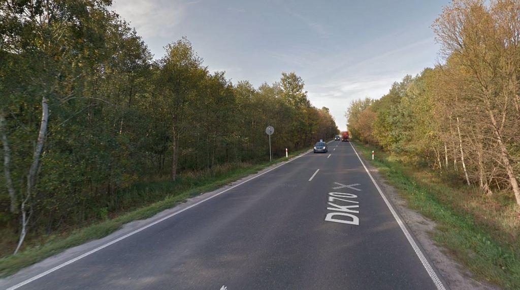Do tragicznego wypadku doszło na drodze krajowej nr 70 w okolicy Michałówka