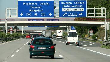 Niemiecka autostrada (zdjęcie ilustracyjne)