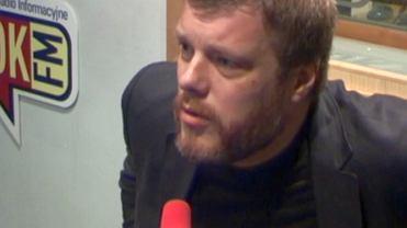 Adrian Zandberg w TOK FM