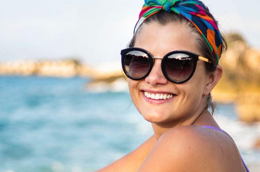 Agnieszka Sienkiewicz na wakacjach