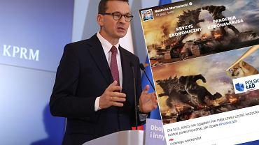 Mateusz Morawiecki publikuje w sieci mem