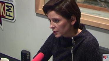 """Posłanka Joanna Mucha w """"Poranku Radia TOK FM"""""""