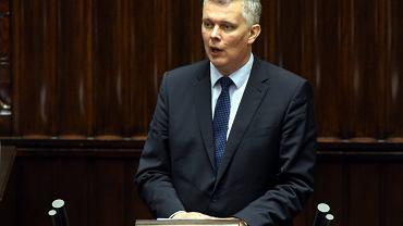 Były minister obrony Tomasz Siemoniak