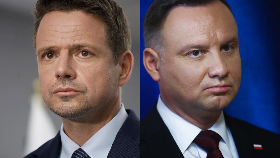 Prezydent RP Andrzej Duda spotka się w drugiej turze z Rafałem Trzaskowskim, prezydentem Warszawy