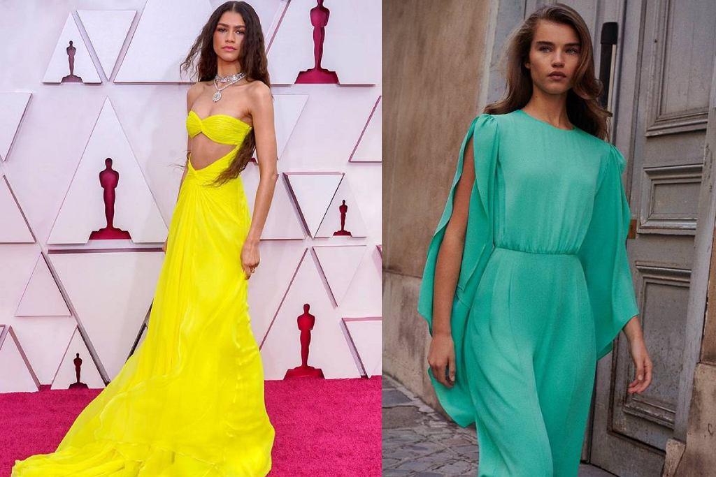 Neonowe niepowtarzalne sukienki