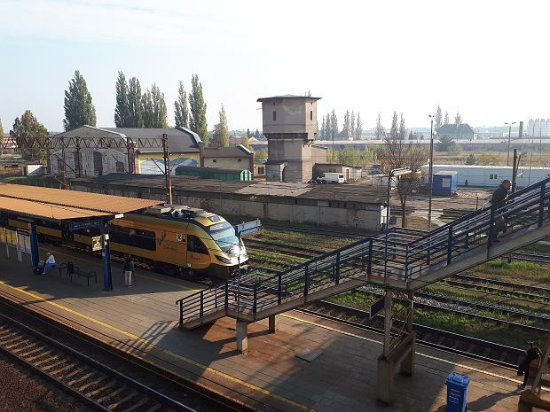 Stacja w Dąbiu. Będzie dostępna także od strony osiedla Słonecznego