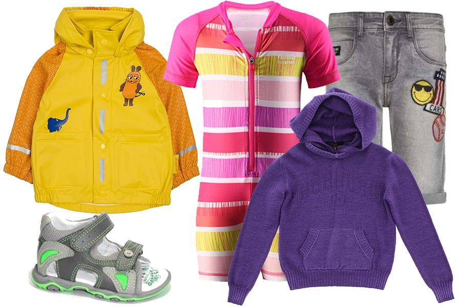 Ubranka dla dziecka na każdą pogodę