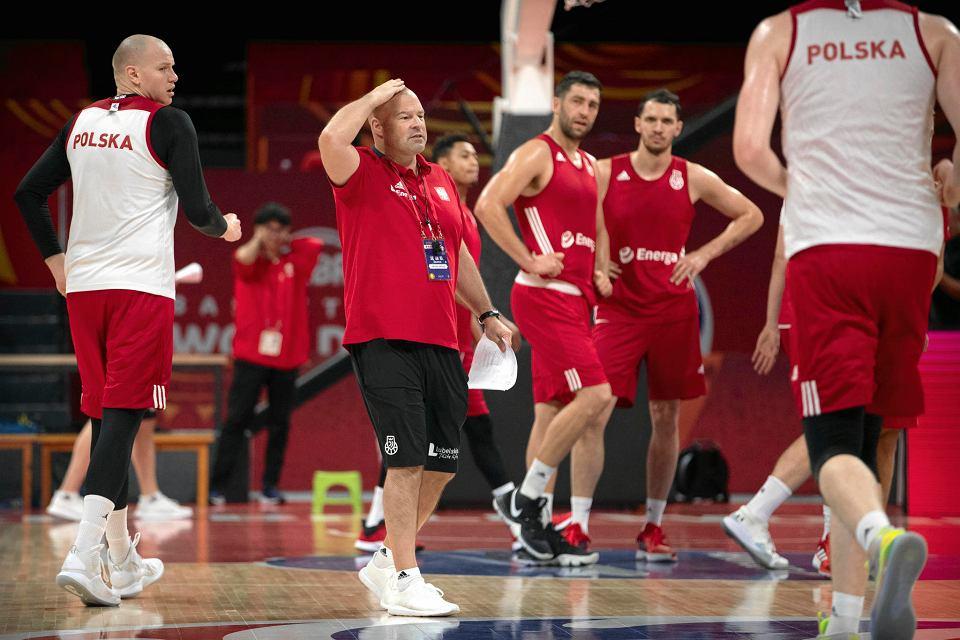 Mistrzostwa świata w koszykówce, Chiny 2019. Polska na treningu przed chińskim turniejem