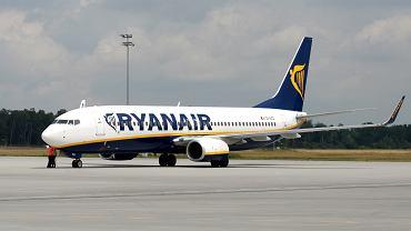 Samolot Ryanair odleciał do Krakowa bez 30 pasażerów