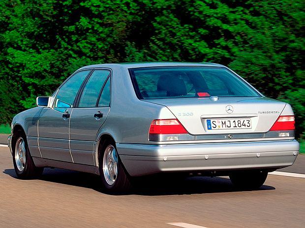 S350 Turbodiesel miał 6 cylindrowy silnik o mocy 150 KM