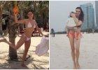 Wendzikowska i Ślotała zaczęły sezon na bikini w Dubaju. Ale inne gwiazdy wyjechały jeszcze dalej!