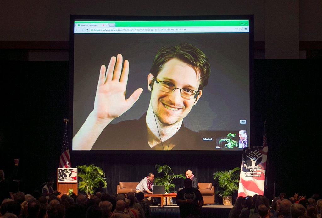 Edward Snowden, zdjęcie z 2015