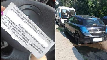 Warszawa. Ponad 20 zniszczonych samochodów i groźby