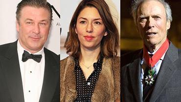 Alec Baldwin, Sofia Coppola, Clint Eastwood