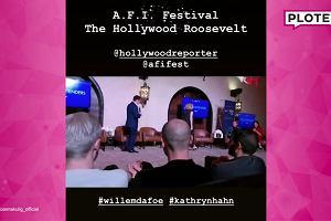 Ciężarna Joanna Kulig na AFI Fest 2018. Razem z nią najlepsi aktorzy  Hollywood