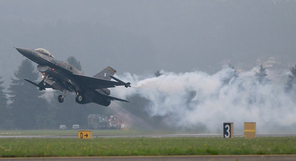 F-16. Zdjęcie ilustracyjne