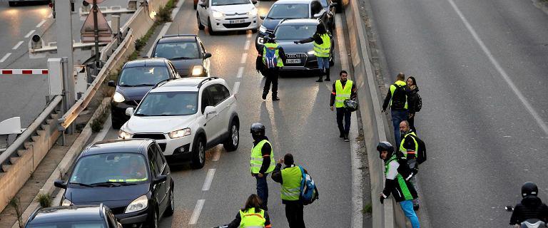 Protest we Francji przeciwko wysokim cenom paliw. Są ofiary