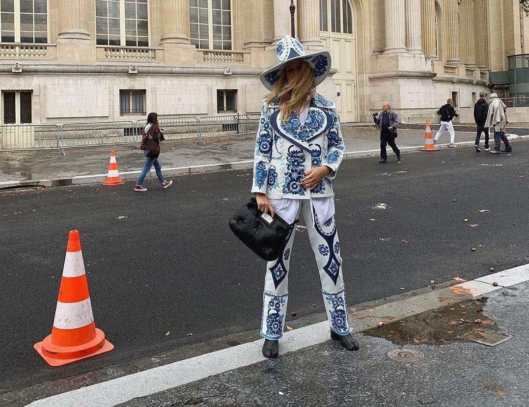Jessica Mercedes na Paris Fashion Week 2019. Stylizacja