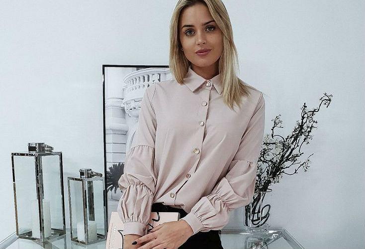 Modernistyczne Eleganckie koszule damskie do 150 złotych PT55