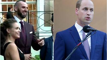 Alicja Bachleda-Curuś, Marcin Gortat, Książę William