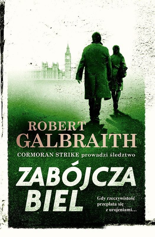 Okładka książki 'Zabójcza biel', Robert Galbraith