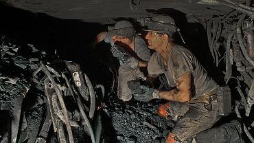 11.06.2018, górnicy w ostatniej czynnej niemieckiej kopalni węgla Prosper Haniel w Bottrop w Zagłębiu Ruhry.