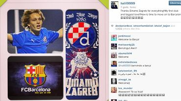 Wpis Alena Halilovicia na Instagramie