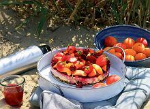 Letnie ciasto zkaszy jaglanej (bez pieczenia) - ugotuj