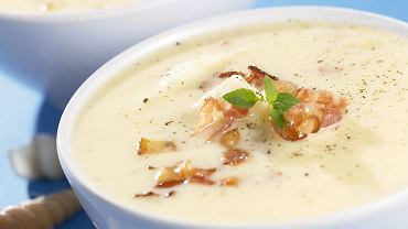 Szafranowa zupa rybna