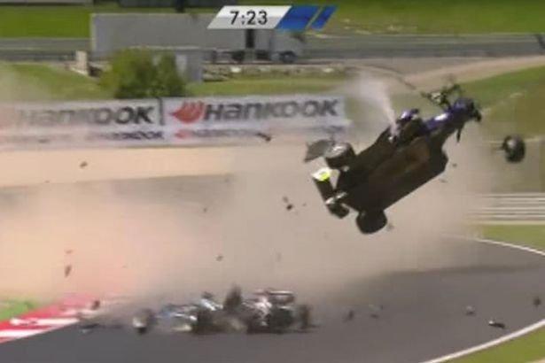 Wypadek w F3