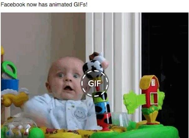 Facebook wspiera format GIF