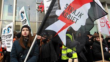 Happening Strajku Kobiet