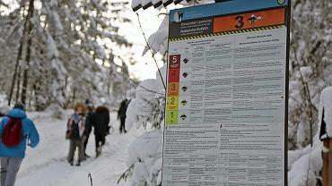 W Tatrach obowiązuje 3. stopień zagrożenia lawinowego. Zdjęcie ilustracyjne