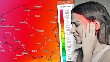 Bóle głowy, problemy ze snem - to najczęstsze i najbardziej zauważalne objawy, których mogą doznać osoby wrażliwe na zmiany pogodowe.