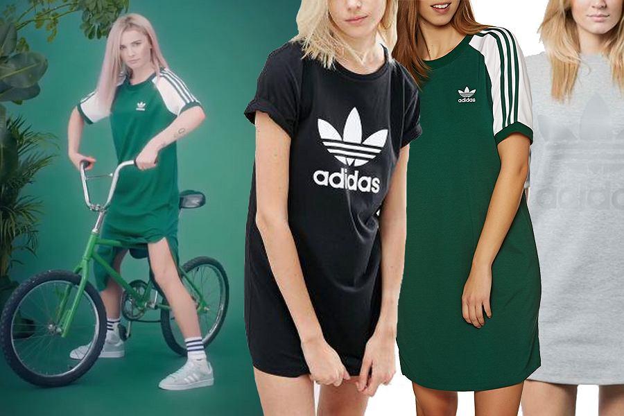 Kolaż, sportowe sukienki/Materiały partnera/