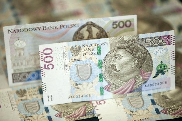 NBP pokazał banknot 500 zł. Trafi do obiegu w lutym 2017 r.