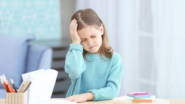Bóle głowy u dzieci - przyczyny