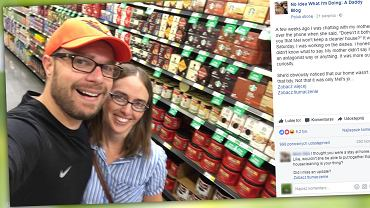 Bloger wytłumaczył mamie za co kocha żonę.