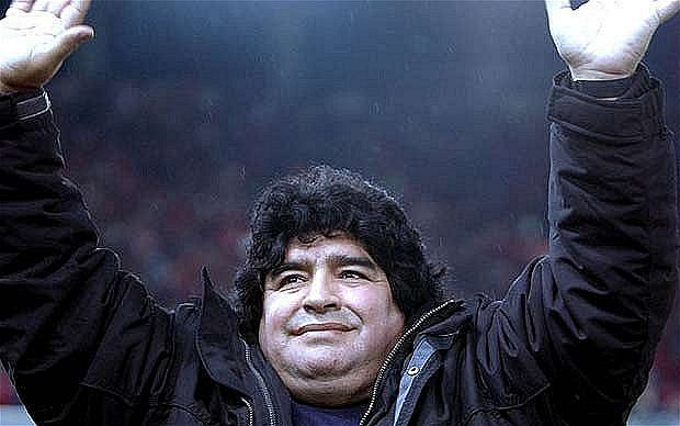 po zakończeniu kariery Maradona nie zawsze dbał o swoje zdrowie