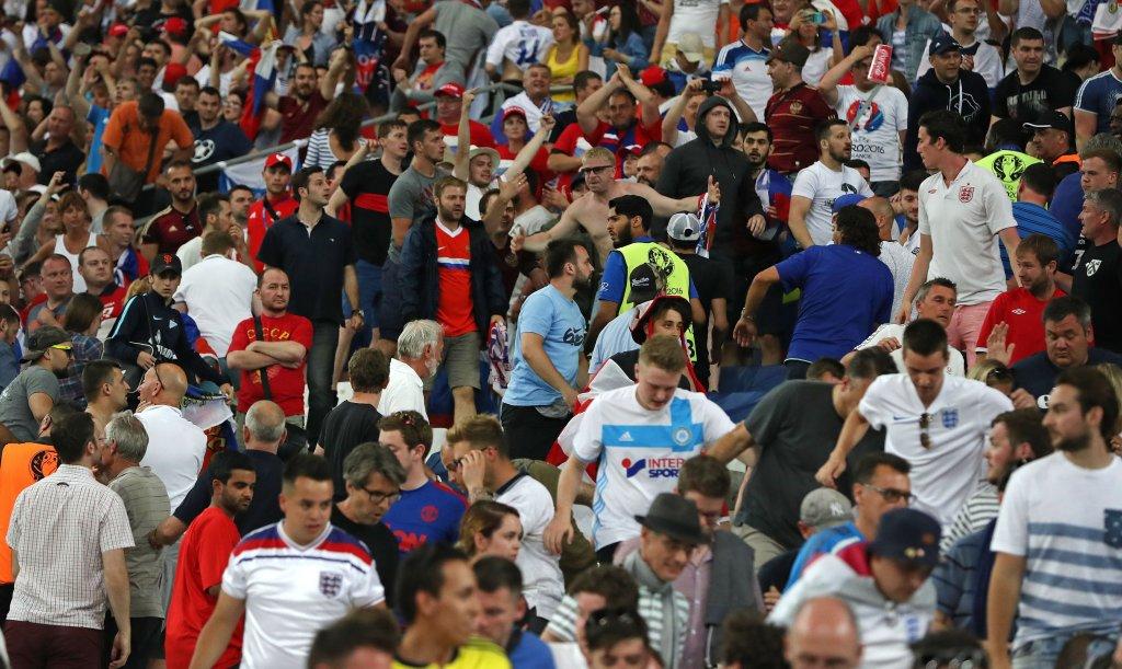 Euro 2016. Zamieszki po meczu Anglia-Rosja