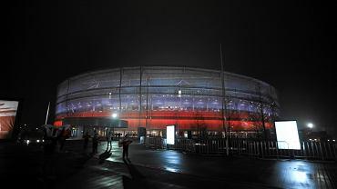 Stadion Miejski we Wrocławiu podczas meczu reprezentacji Polski