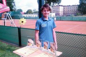 Bardzo dobry występ płockiego tenisisty w Łęczycy