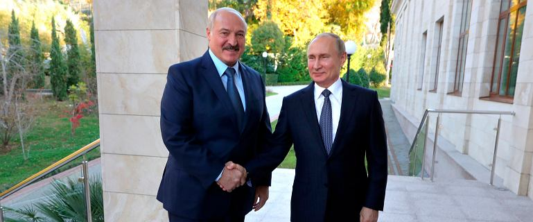 Rosja naciska na unifikację z Białorusią. Białorusini wyszli na ulice