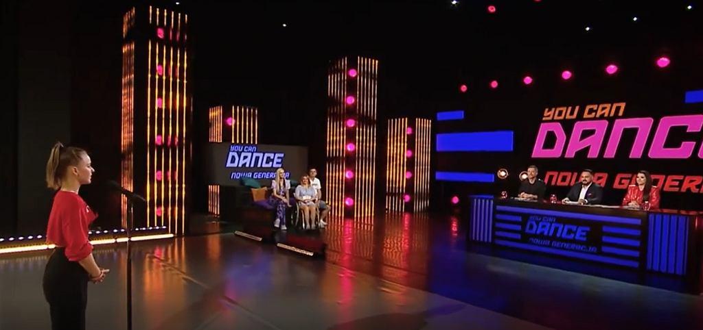Dominika Rucińska w 'You Can Dance'
