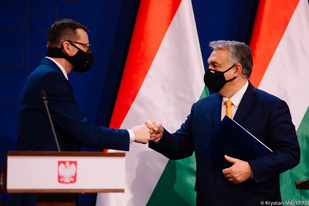 Matusz Morawiecki i Viktor Orban