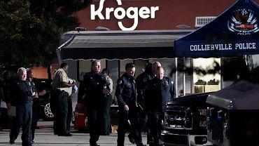 USA. W strzelaninie zginęły 2 osoby, a 12 zostało rannych. Pracownicy schowali się w zamrażarkach